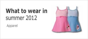 What to wear in summer 2012