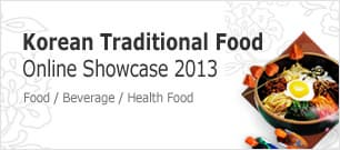 Korean Traditional Food Online Showcase 2013