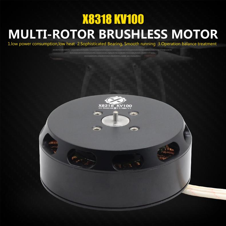 Hot sale 8318 industrial UAV drone outrunner brushless motor