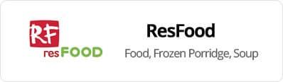 ResFood -  Food,Frozen Porridge, Soup