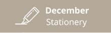 December-stationery