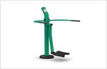 Gymnastic ground equipment