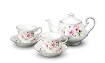 Tea Set  (2 Teacup & 1 Teapot)