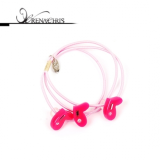 Tri Heart ponytail holder