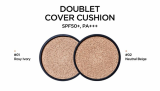 DOUBLET COVER CUSHION