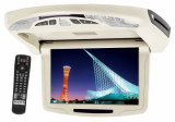 """Ceiling Mount 9.5"""" Motorized Monitor & DVD Player Combo"""
