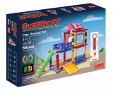 Click Block_ Magnet educational toyX_bar Playground Set 55p