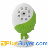 Egg-Go - WiFi Baby Monitor (Wireless Camera, 1/7 Inch CMOS, Microphone, Night Vision)