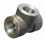 duplex stainless ASTMA182 F47 socket weld tee