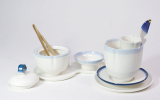 _Cera Factory_ _Rest on the scent_ _ single Tea Set