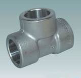 duplex stainless ASTMA182 F46 socket weld tee