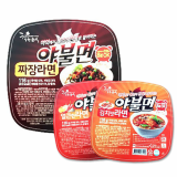 Heating container instant rice noodle