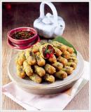Deep Fried Spicy Seaweed Roll