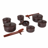 Ahn Sisung Earthenware _Breakfast Tableware Set for Two_