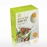 Eco-friendly Biodegradable Disposable Fork 200pcs