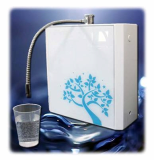 Counter top water ionizer