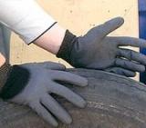 Nylon PU Half(3/4) Coated Gloves