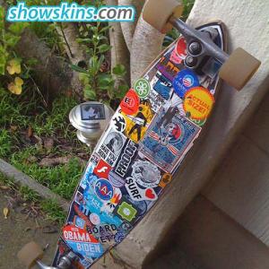 Darkstar Skateboards - Darkstar Rabid Skateboard Stickers - 25Pk