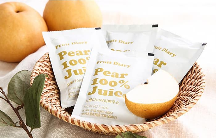 Fruit Diary Pear 100_ Juice