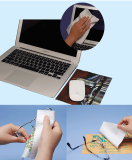 Microfiber cleaner mouse pad