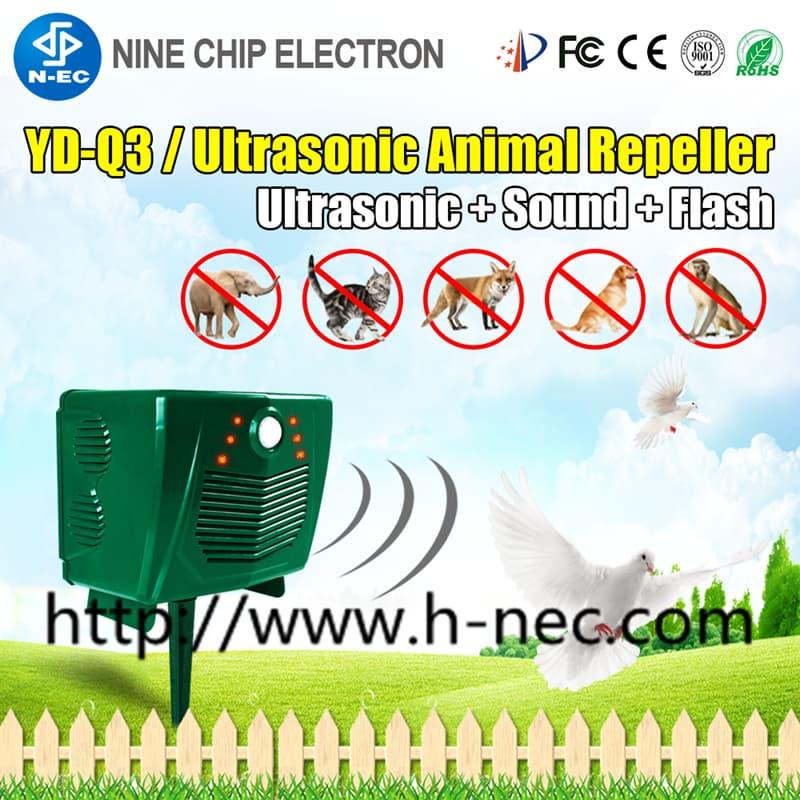 Solar Electronic Ultrasonic Bird Repeller, Animal chaser
