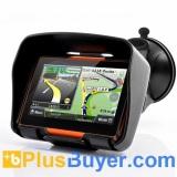 Rage - All Terrain Motorcycle GPS Navigation System (4.3 Inch Touchscreen, Waterproof, 4GB, Bluetooth)
