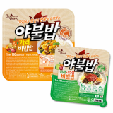 Heating container instant rice