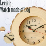 Leejel wood clock