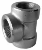 stainless ASTM A182 F348h socket weld tee