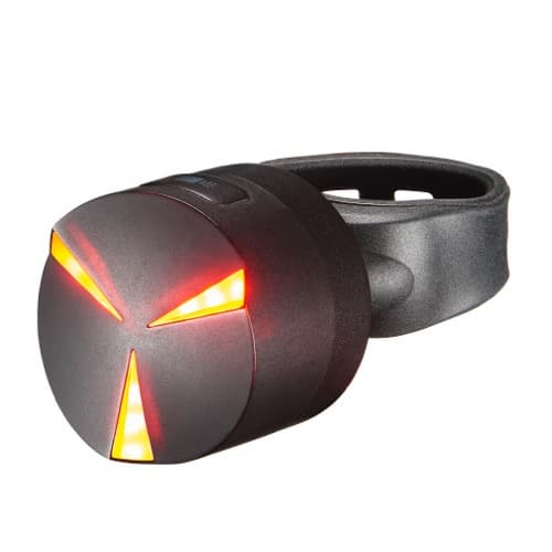 Smart rear light for bicycle