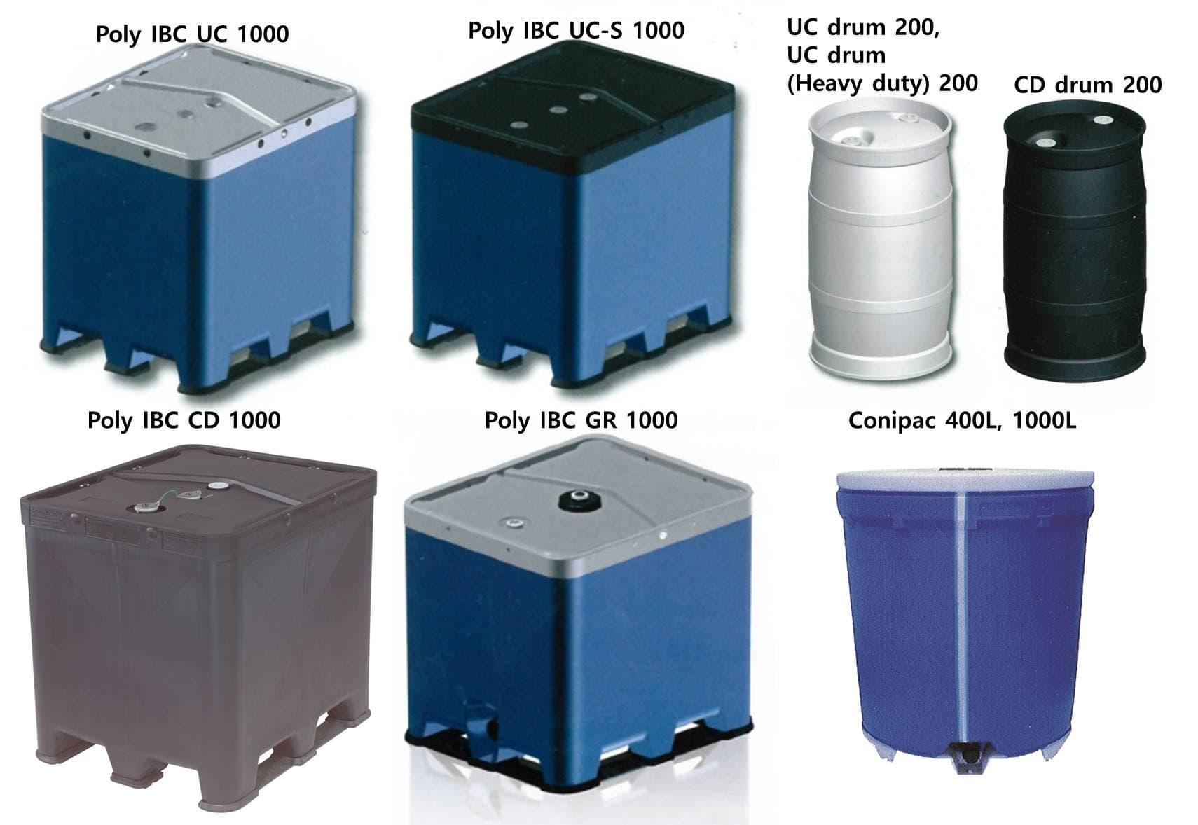 Rikutec Germany Poly Ibc Intermediate Bulk Container
