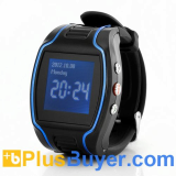 Two Way Calling GPS Mobile Phone Watch (Quad Band, SOS Call Button, Timer)