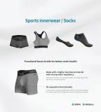 Functional 3D Seperation Underwear