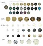 Clothing subsidiary materials