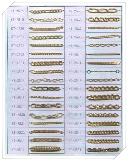 Brass Chain for imitation jewelry-KT2382-