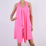 Beach Wear-Fluorescent Pink-