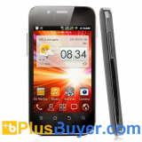 Dual SIM Android Smarphone with 3.5 Inch Display and 1GHz CPU - Black