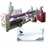 PMMA ABS  sanitary ware bathtub sheet board production line