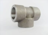 stainless ASTM A182 F310 socket weld tee
