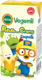 Pororo and Crong banana flavor Vegemil