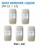 SOOT REMOVER LIQUID removal soot and fire side scale