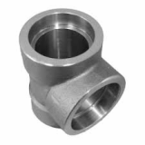 stainless ASTM A182 F347h socket weld tee