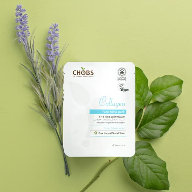 CHOBS Organic Collagen Mask Pack