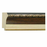 polystyrene picture frame moulding - 2141 Brown
