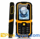 Rugged Dual SIM Mobile Phone with 2.2 Inch Screen (Waterproof, Shockproof)