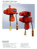 KUKDONG ELECTRIC CHAIN HOIST KE_90 TYPE