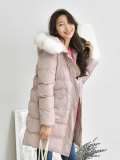 Jumper_ Outer_ Outwear_ Winter_wear_ Fur hood