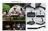 multi square_round pans with a detachable handle for camping_home