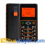 Quadband GSM Senior Cell Phone with GPS Tracking, Flashlight, SOS Calls