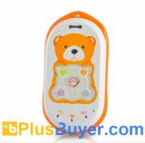 Quadband GPS Tracker Phone for Children and Seniors (SOS Calls, Voice Monitoring)
